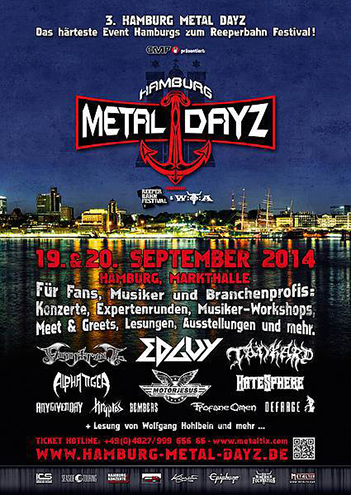 Hamburg Metal Dayz 2014